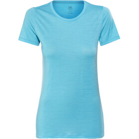 Icebreaker Tech Lite t-shirt Dames turquoise